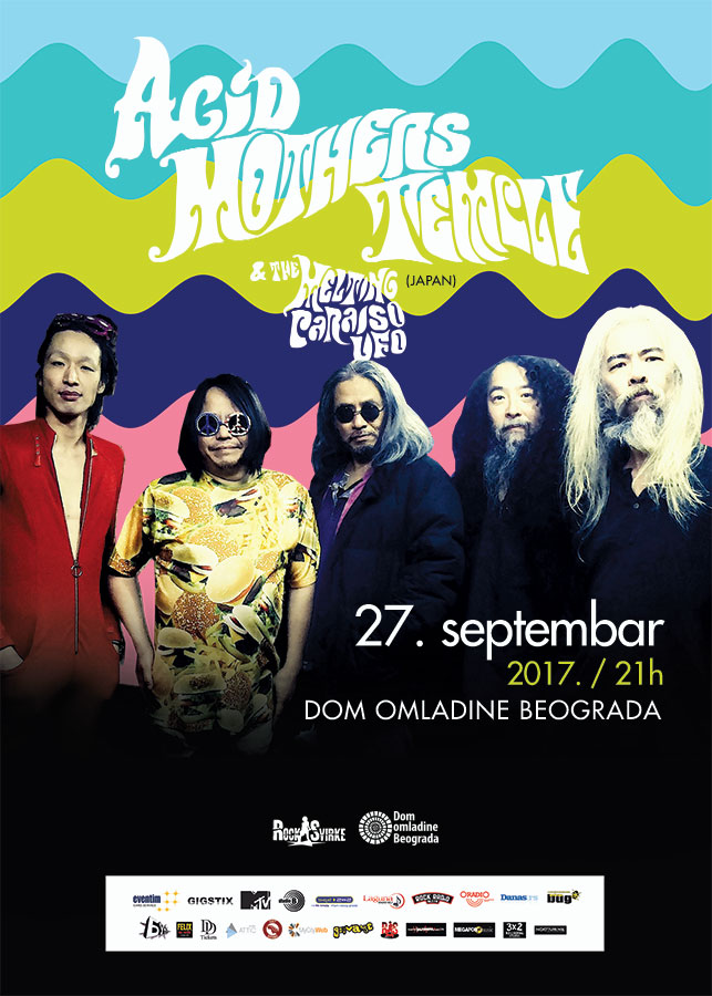Acid Mother Temple Poster B2