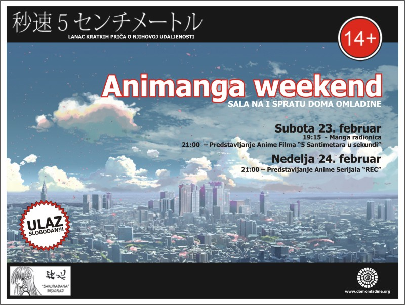 Animanga Vikend plakat