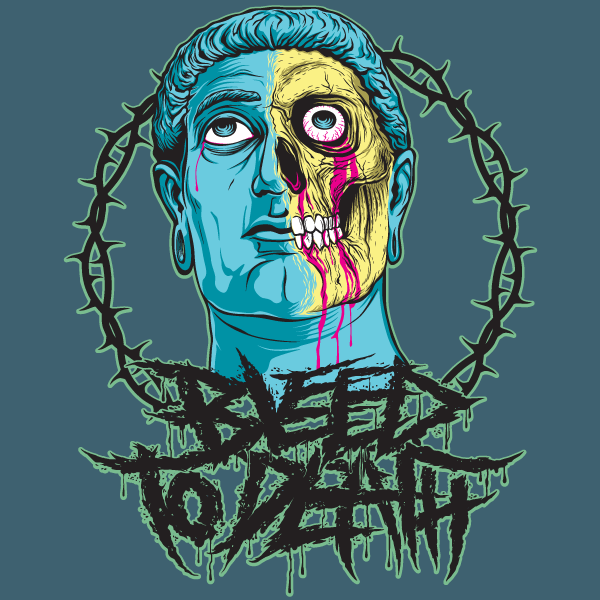 Bleed to death logo
