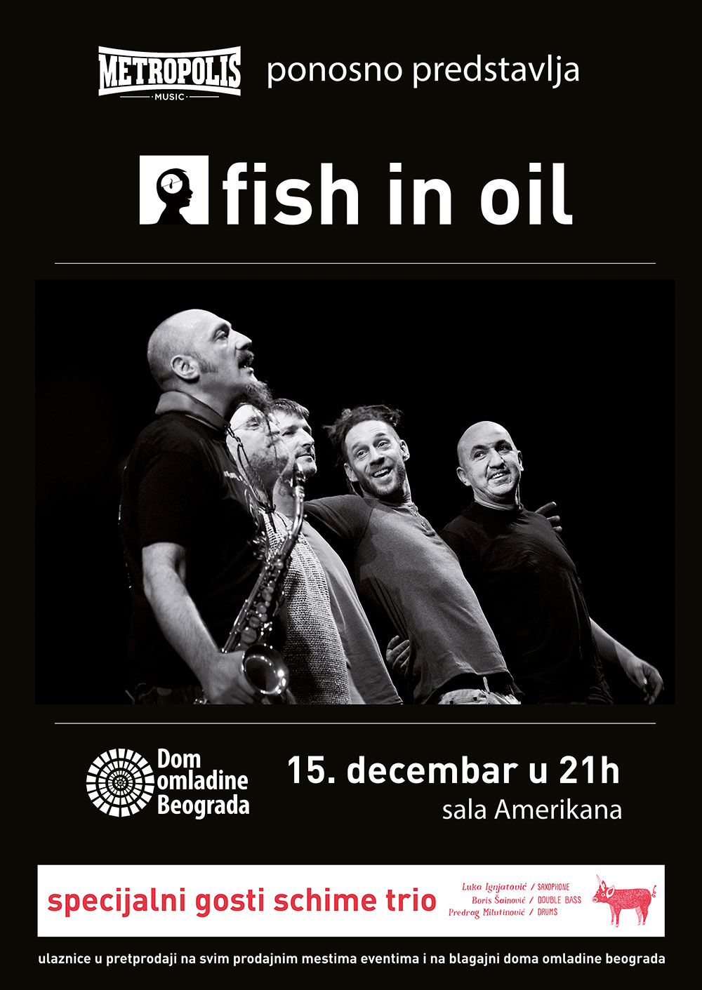 FISH IN OIL plakat 2016