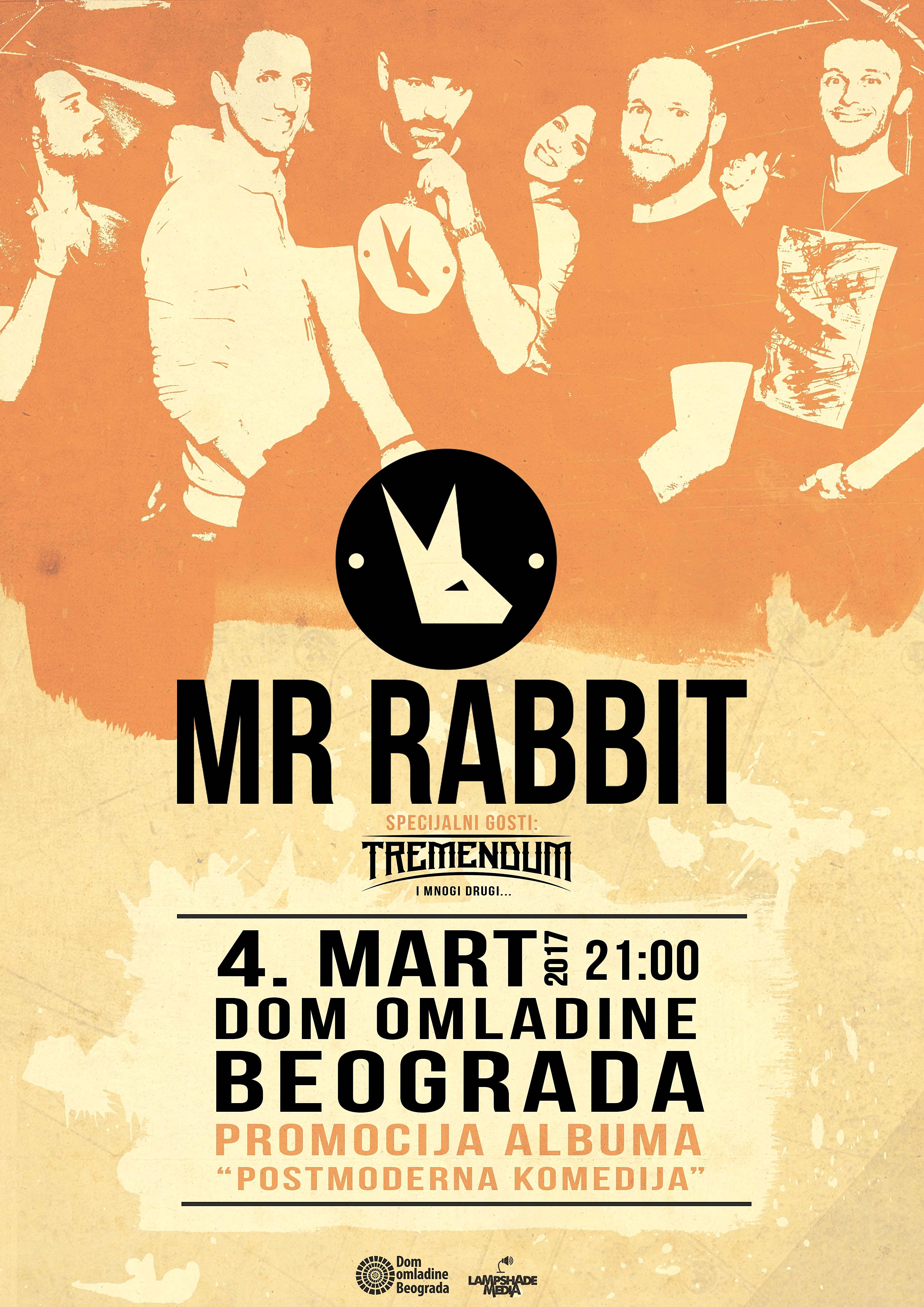 Mr.Rabbit u beogradskom Domu omladine