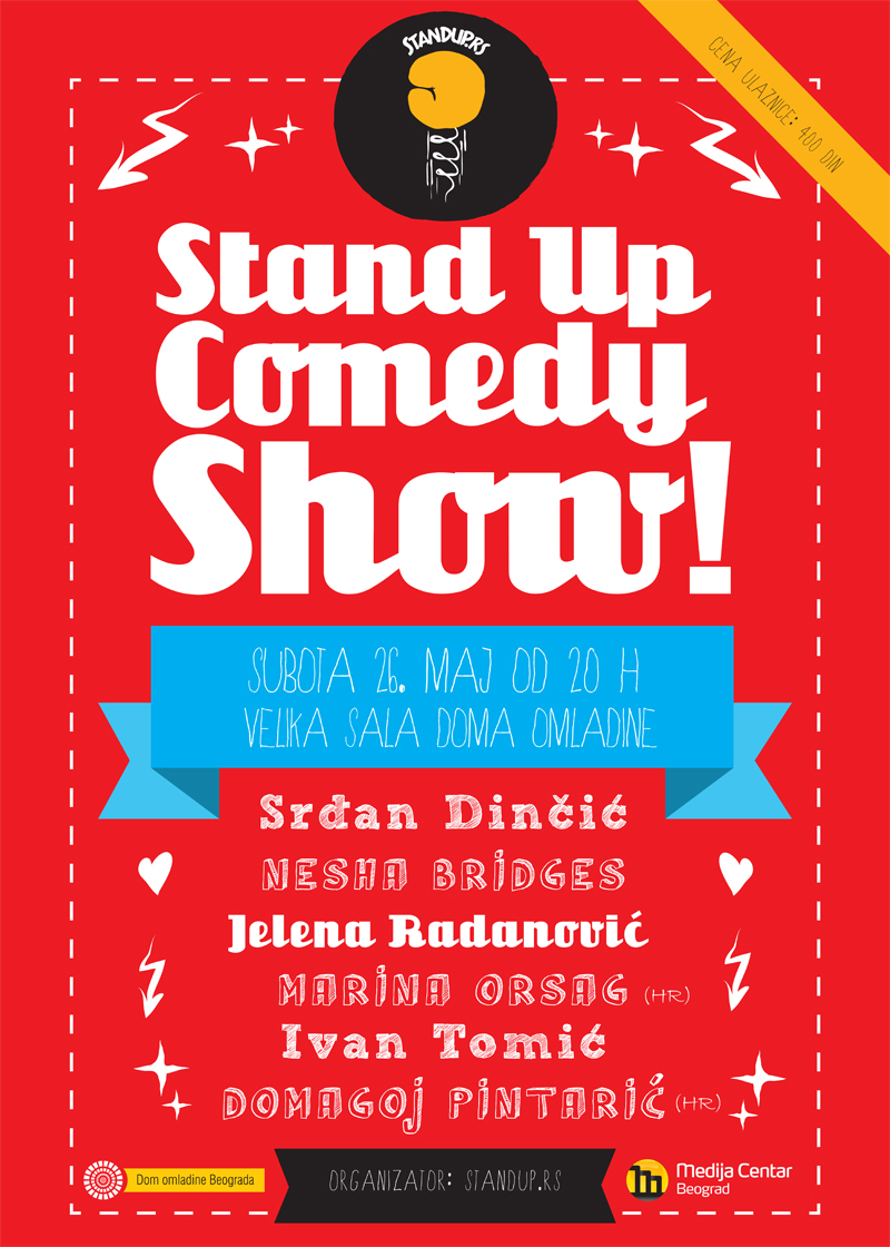 Stand up 26. maj