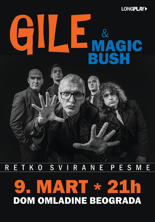 gile magic bush plakat